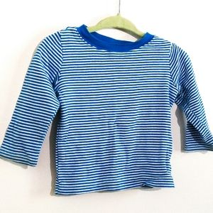 6-9M Tee | Long Sleeved Top Striped